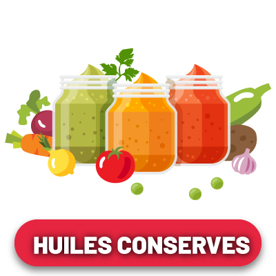 Huiles & conserves